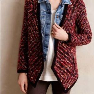 Anthropologie winter fall jacket blazer